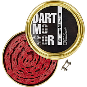 "DARTMOOR Core Bicycle Chain 1/8"", red"